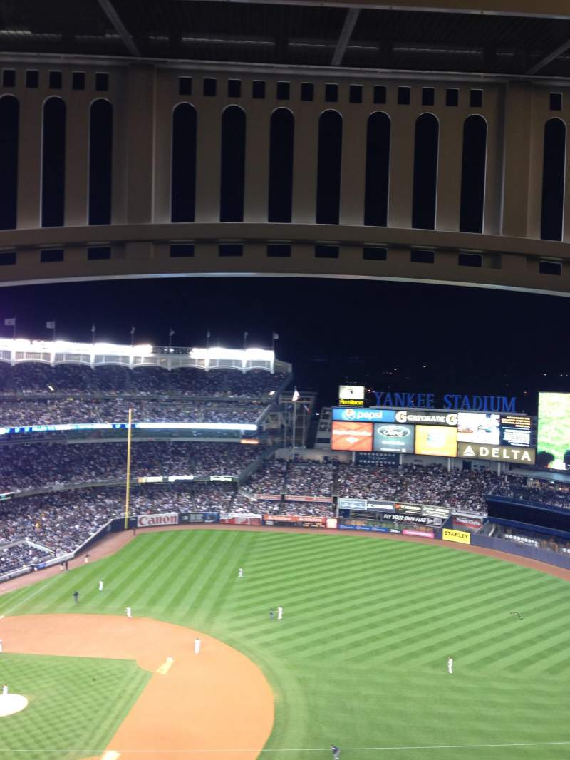 Seating view for Yankee Stadium Section 414 Row 13 Seat 18
