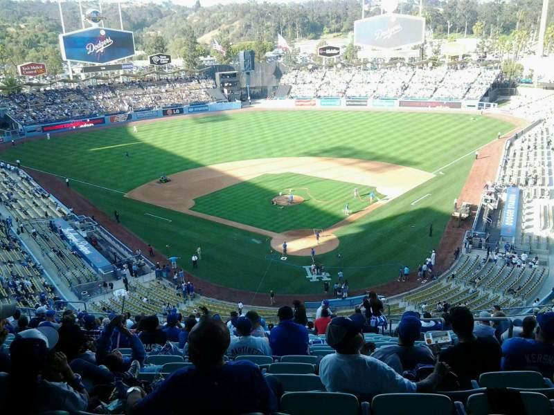 Dodger Stadium, section: 3rs, row: U, seat: 6