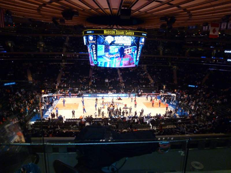 Seating view for Madison Square Garden Section 224 Row 4 Seat 1