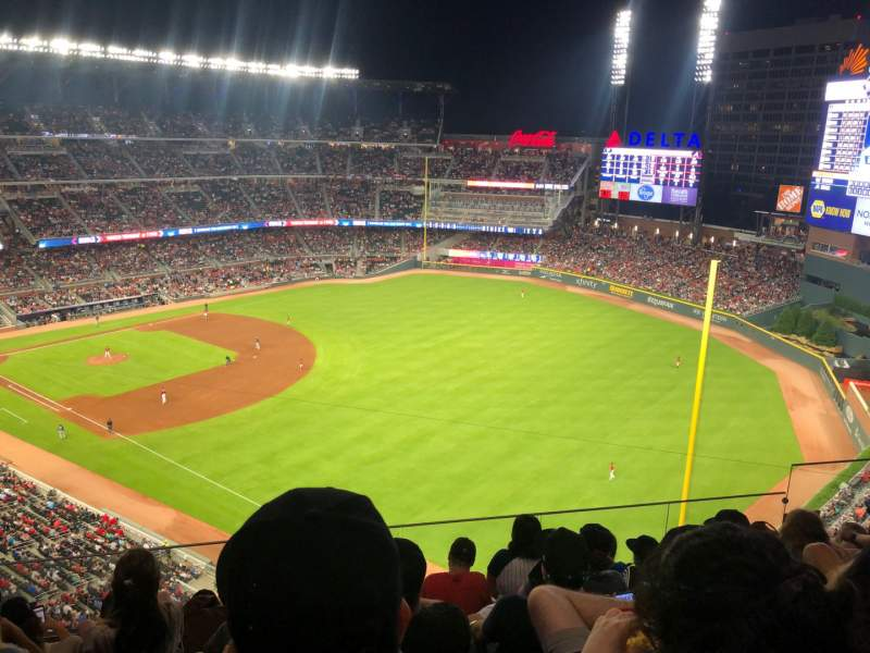 Seating view for SunTrust Park Section 412 Row 6 Seat 6