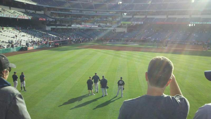 Seating view for Angel Stadium Section P237 Row c Seat 13