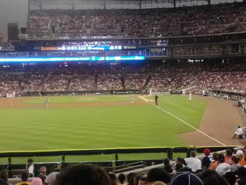 Seating view for Comerica Park Section 147 Row R Seat 2