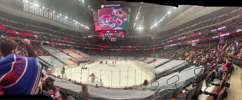 Seating view for Prudential Center Section 14 Row 15 Seat 7
