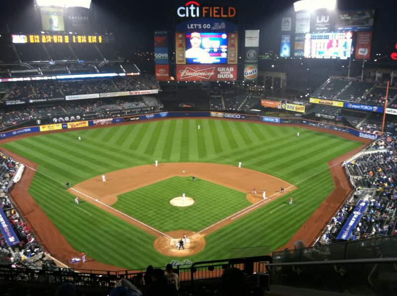 Seating view for Citi Field Section 514 Row 12 Seat 8