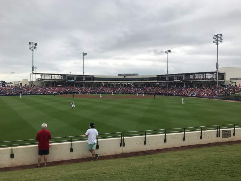 Seating view for FITTEAM Ballpark of the Palm Beaches Section Berm