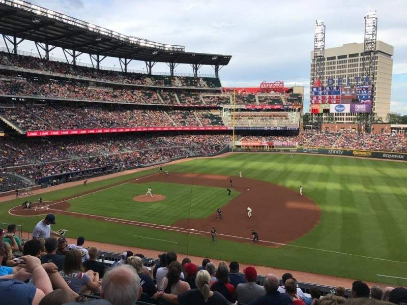 Seating view for Truist Park Section 217 Row 9 Seat 3