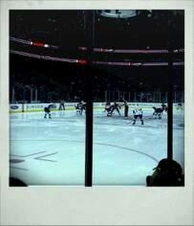 Seating view for Prudential Center Section 5 Row 3 Seat 6