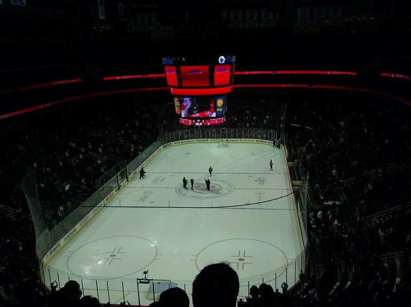 Seating view for Prudential Center Section 103 Row 9 Seat 8