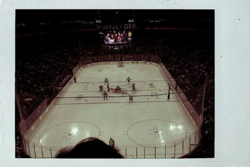 Seating view for Prudential Center Section 120 Row 6 Seat 3