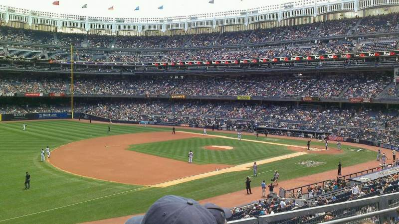 Seating view for Yankee Stadium Section 227B Row 3 Seat 22