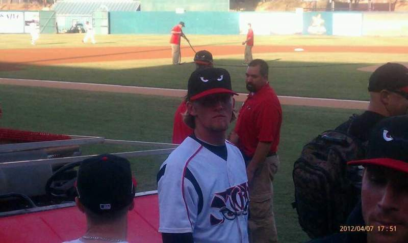 Seating view for Lake Elsinore Diamond Section 105