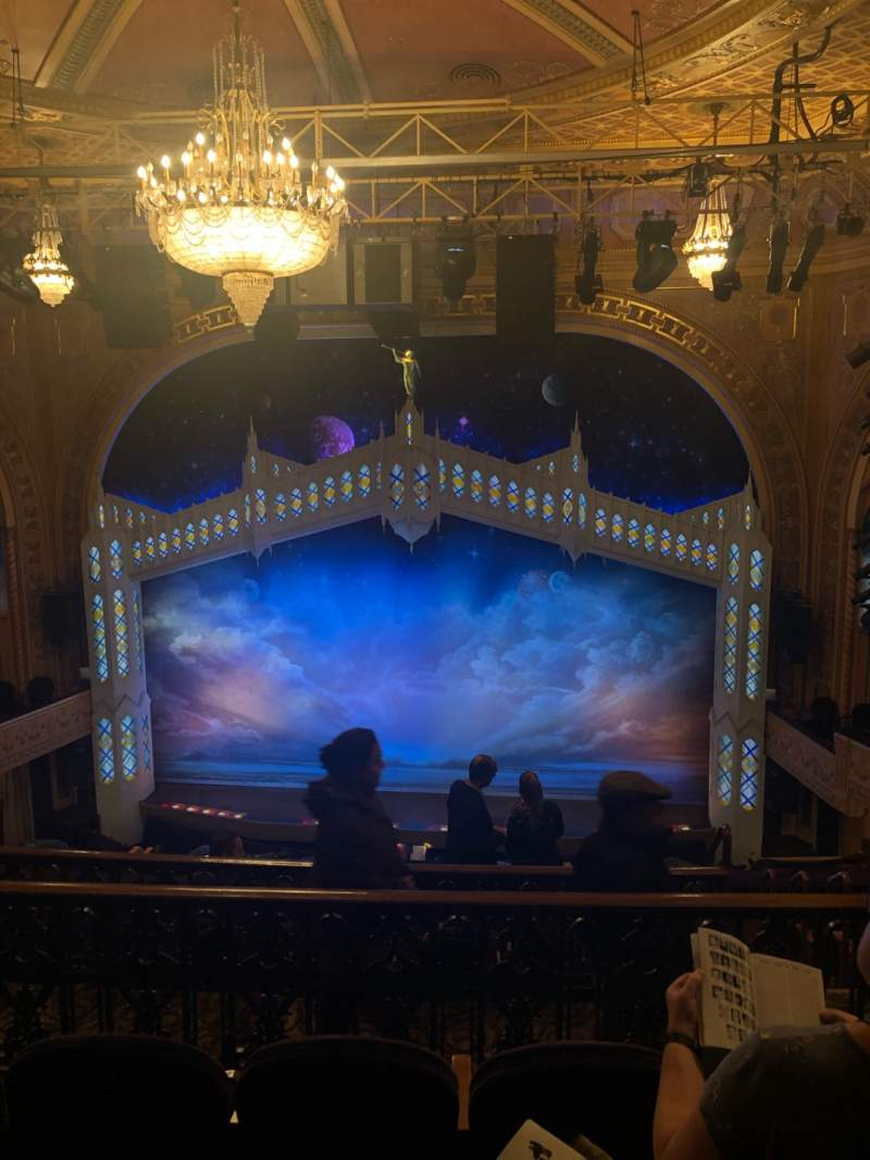 Seating view for Eugene O'Neill Theatre Section Mezzanine C Row H Seat 110