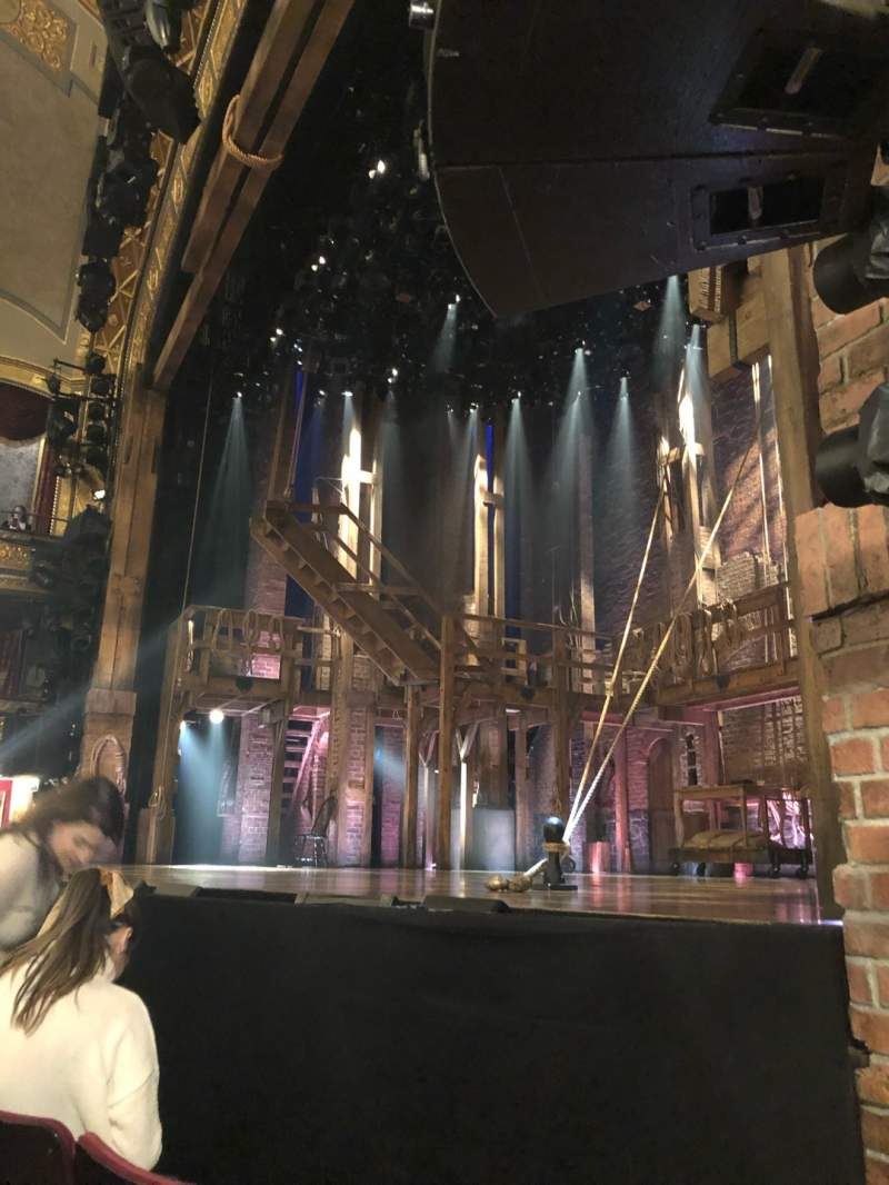 Seating view for Richard Rodgers Theatre Section Orchestra R Row B Seat 16