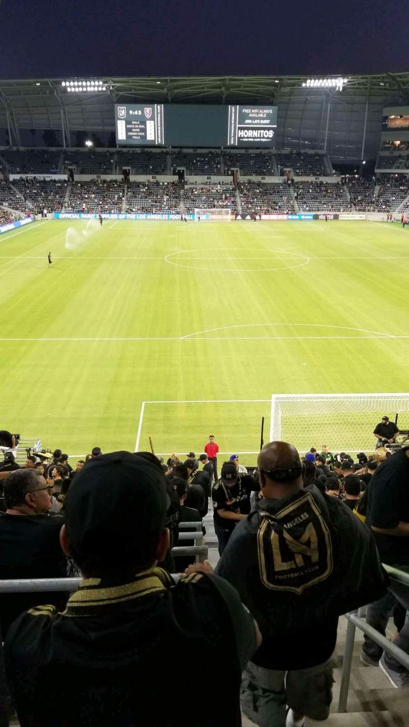 Seating view for Banc of California Stadium Section supporters