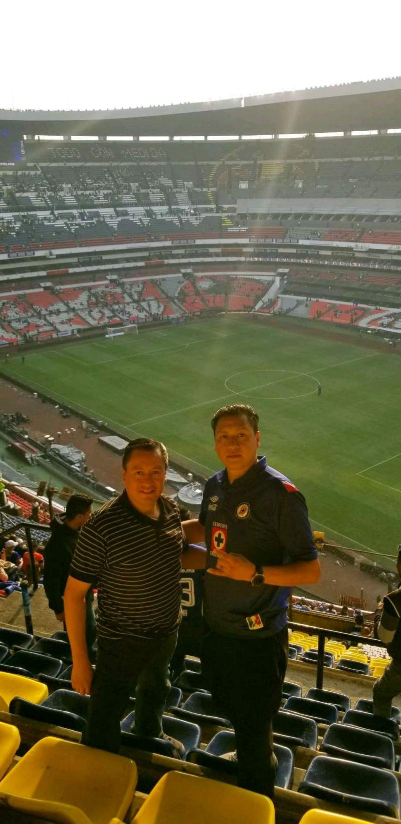 Seating view for Estadio Azteca Section 552 Row j Seat 20