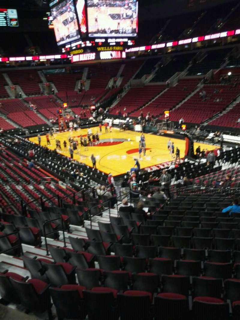 Seating view for Moda Center Section 211 Row e Seat 7