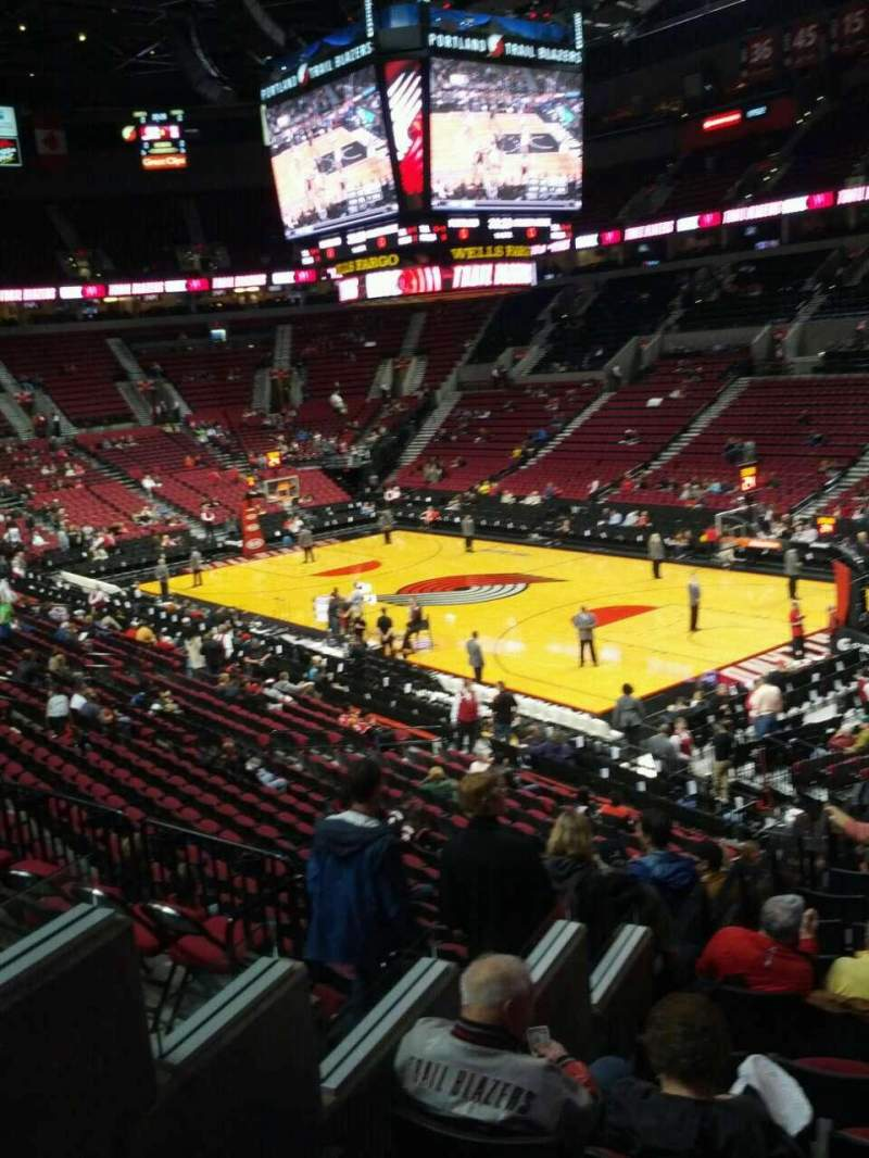 Seating view for Moda Center Section 227 Row g Seat e