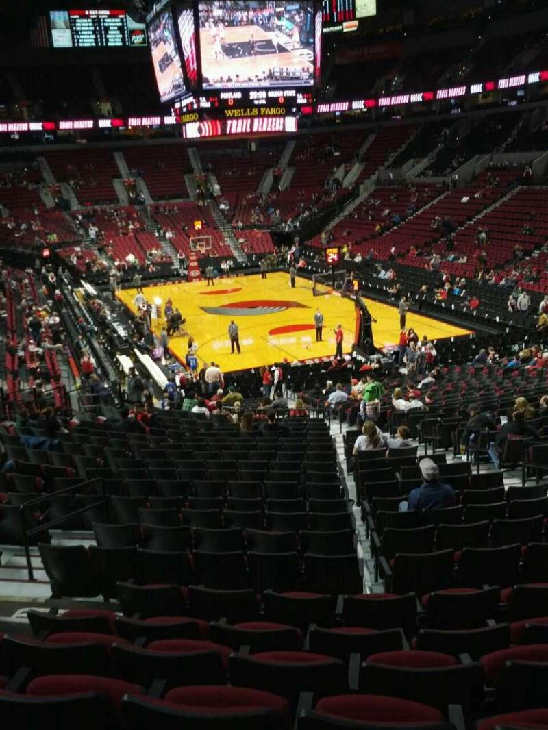 Seating view for Moda Center Section 224 Row g Seat 7