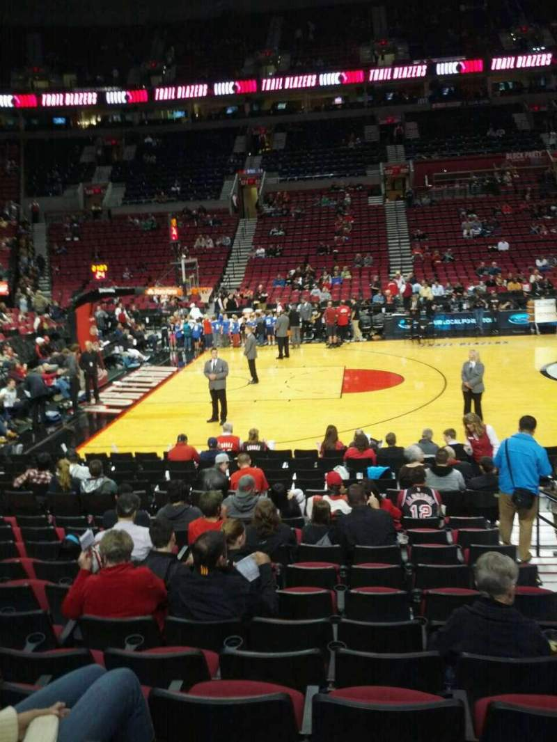 Seating view for Moda Center Section 113 Row l Seat 3