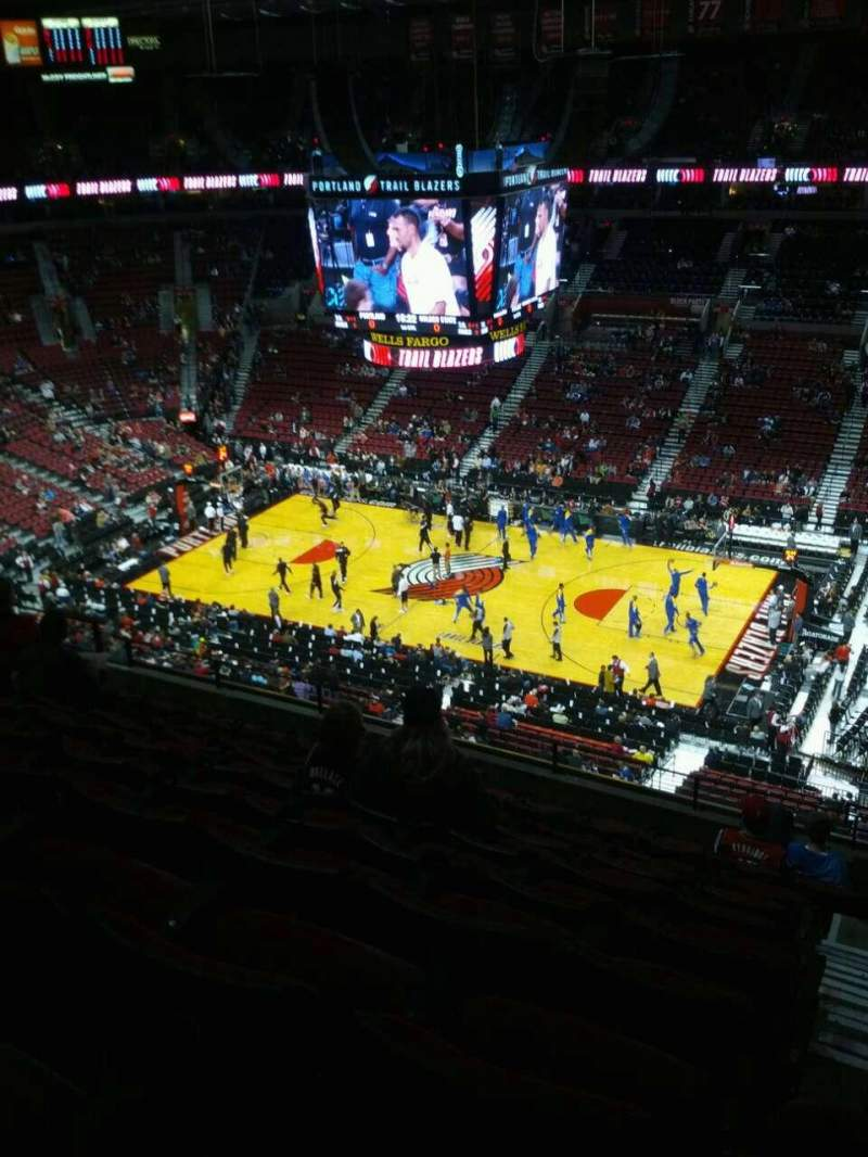 Seating view for Moda Center Section 316 Row k Seat 3