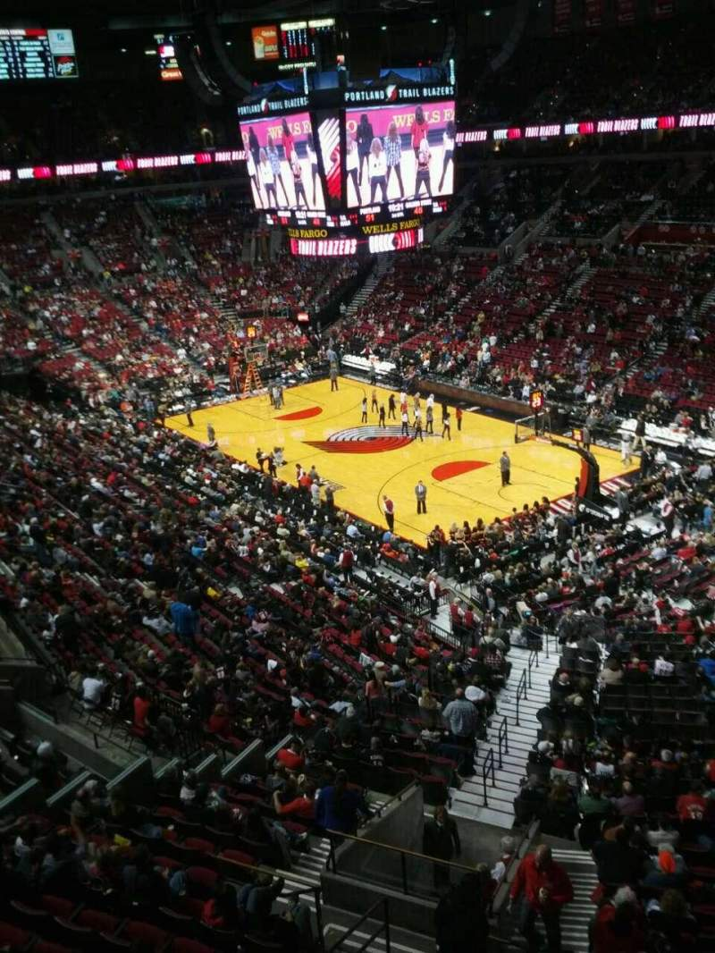 Seating view for Moda Center Section 313 Row a Seat 12