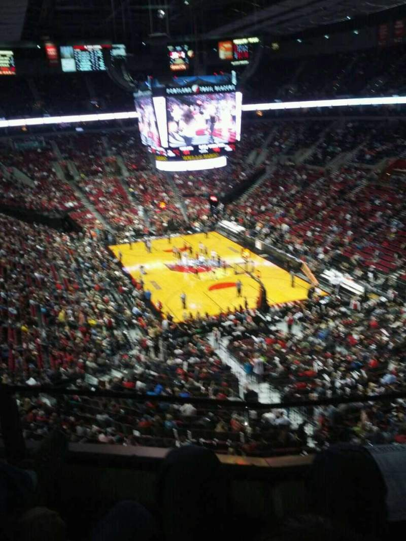 Seating view for Moda Center Section 311 Row b Seat 11