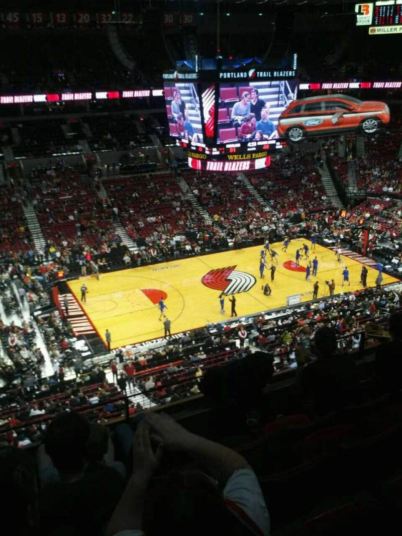 Seating view for Moda Center Section 303 Row e Seat 10