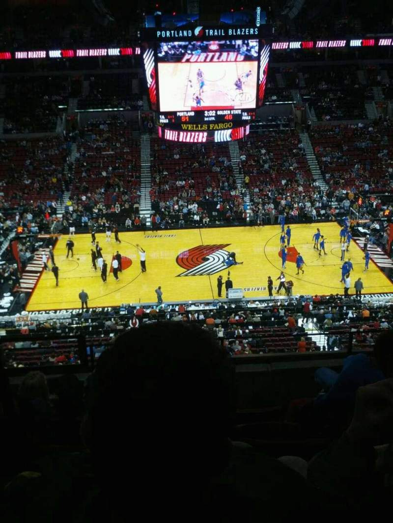Seating view for Moda Center Section 301 Row e Seat 10