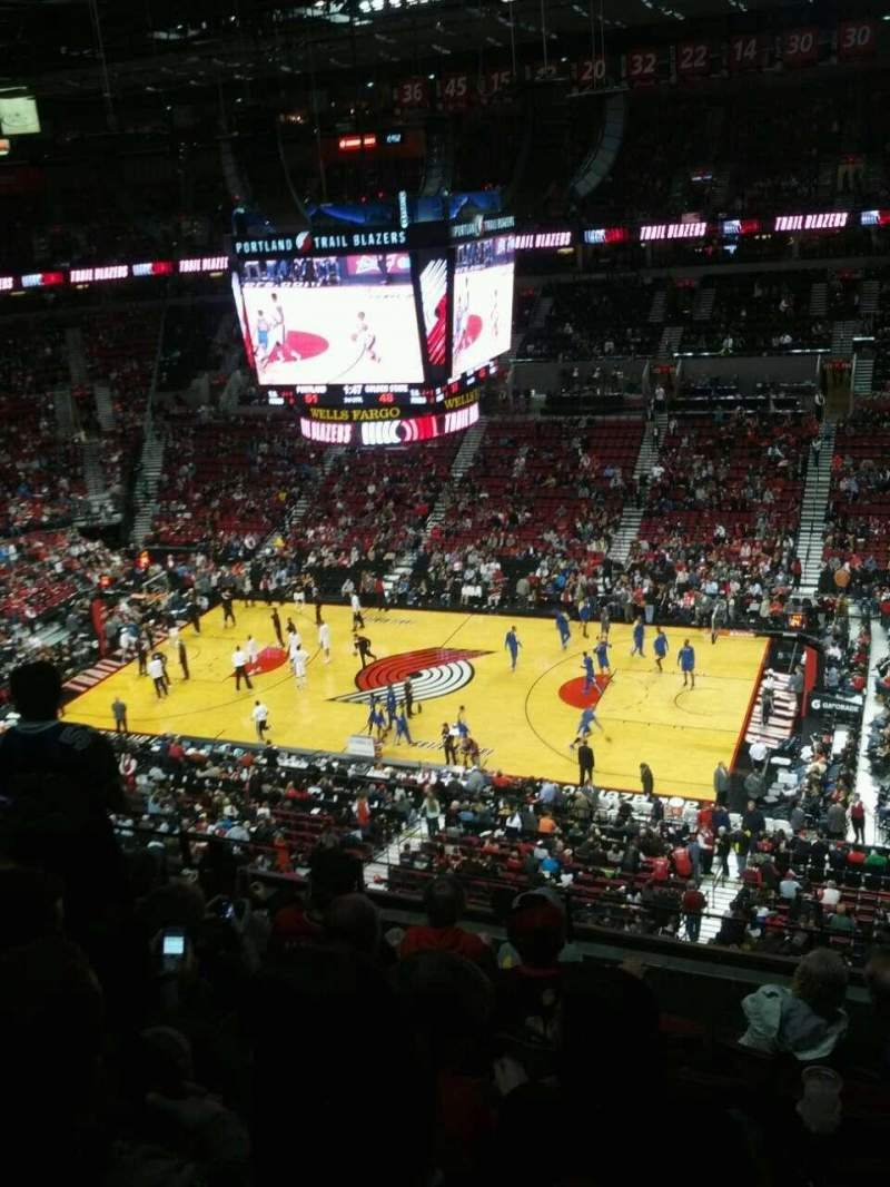 Seating view for Moda Center Section 333 Row g Seat 8
