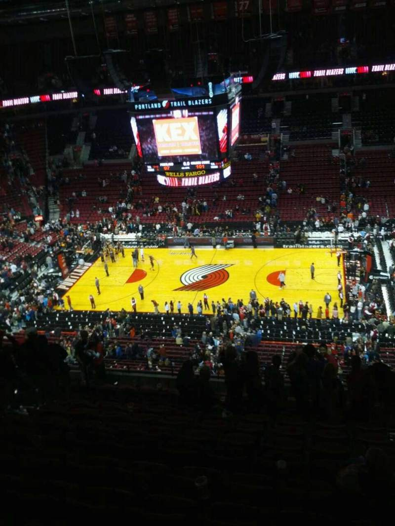 Seating view for Moda Center Section 317 Row n Seat 5