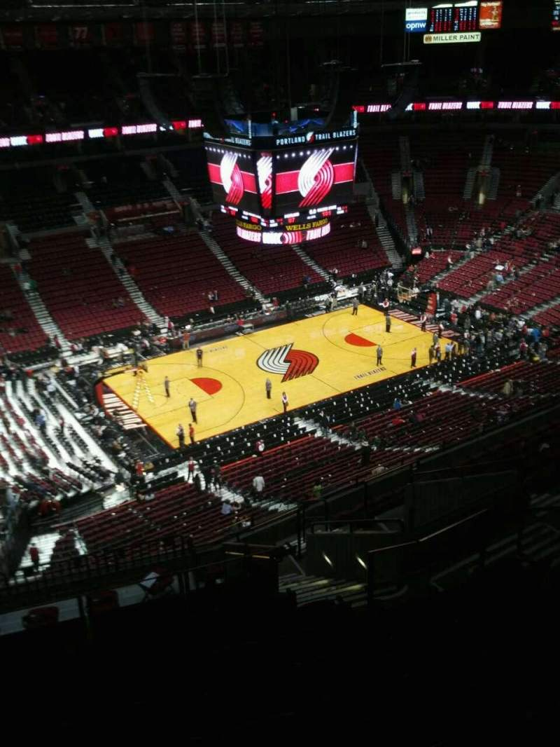 Seating view for Moda Center Section 321 Row o Seat 9