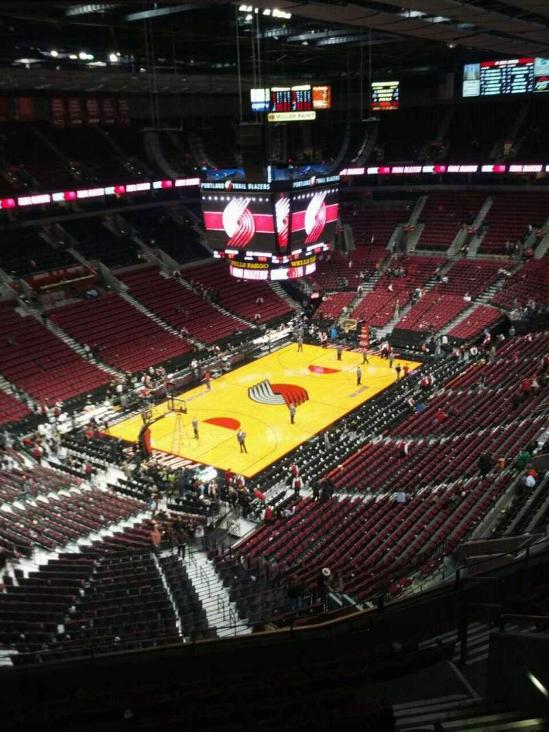 Seating view for Moda Center Section 323 Row k Seat 7