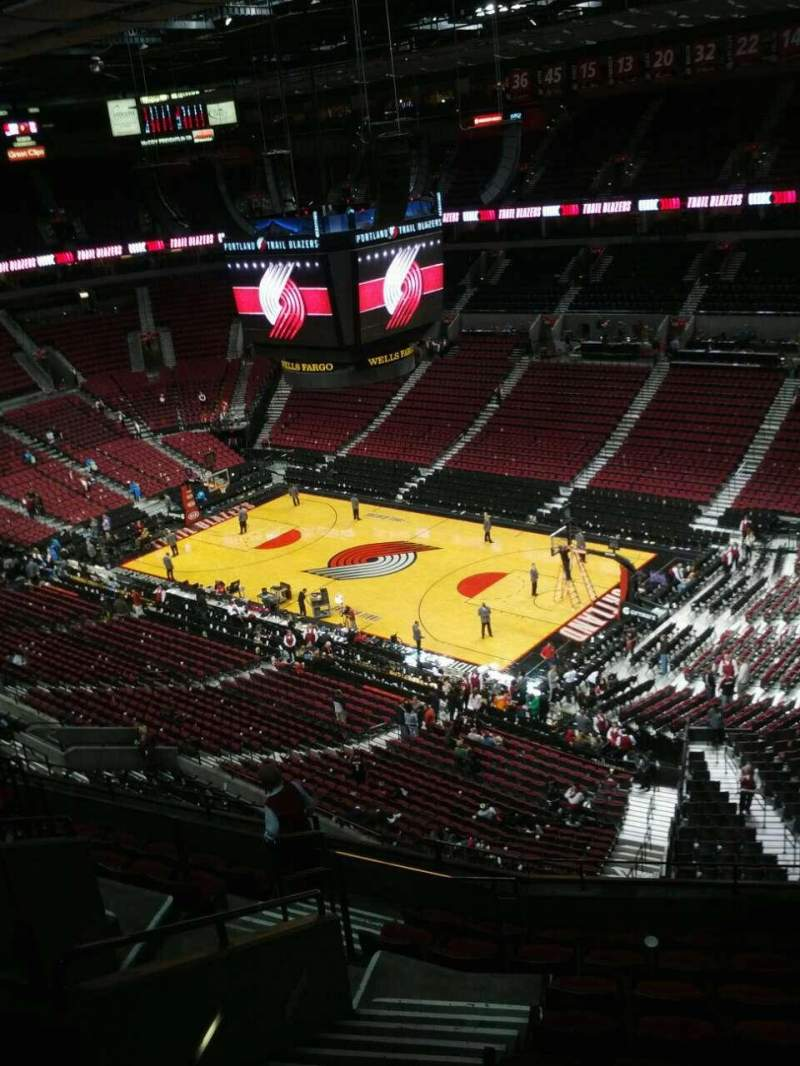 Seating view for Moda Center Section 331 Row k Seat 15