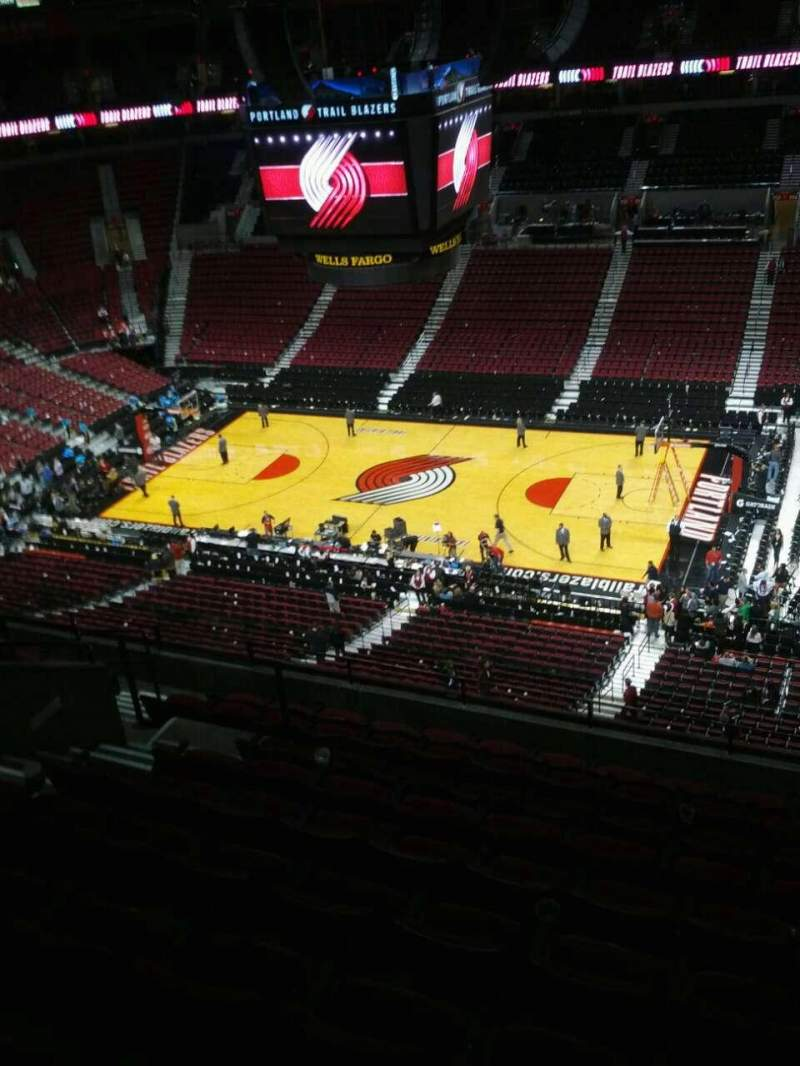 Seating view for Moda Center Section 333 Row k Seat 9