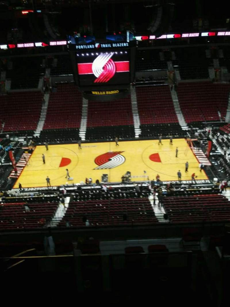 Seating view for Moda Center Section 301 Row k Seat 7