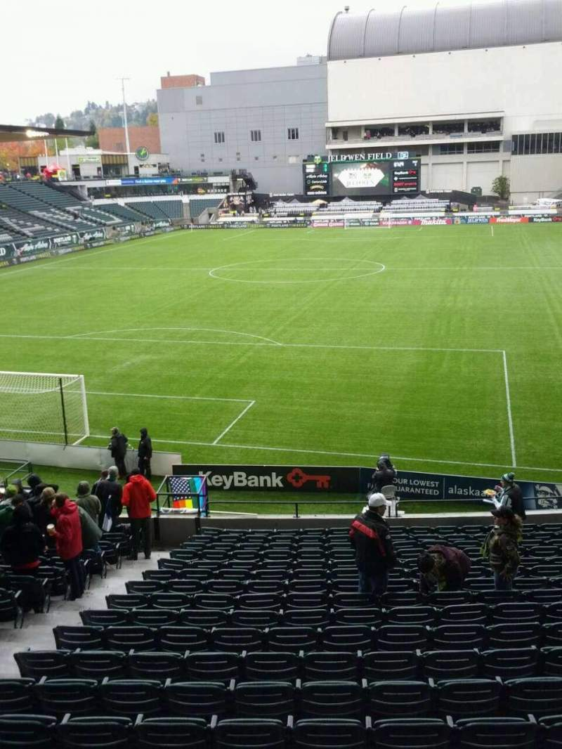 Seating view for Providence Park Section 209 Row a Seat 15