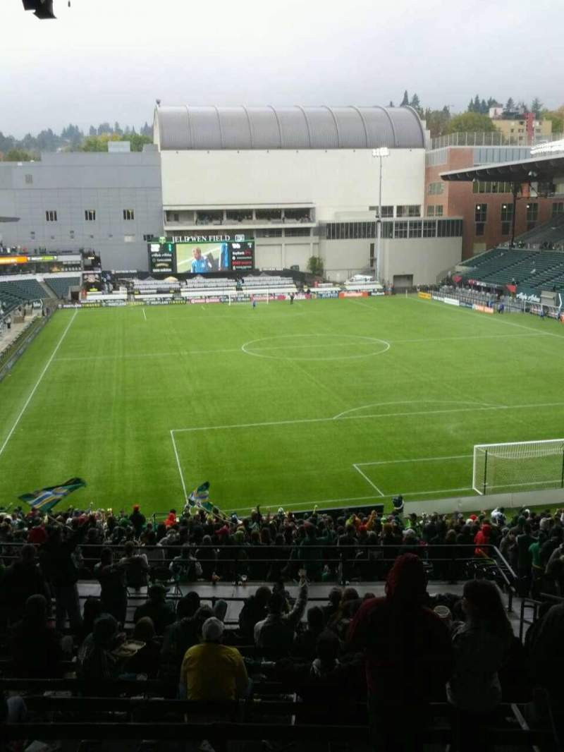 Seating view for Providence Park Section 205 Row n Seat 17