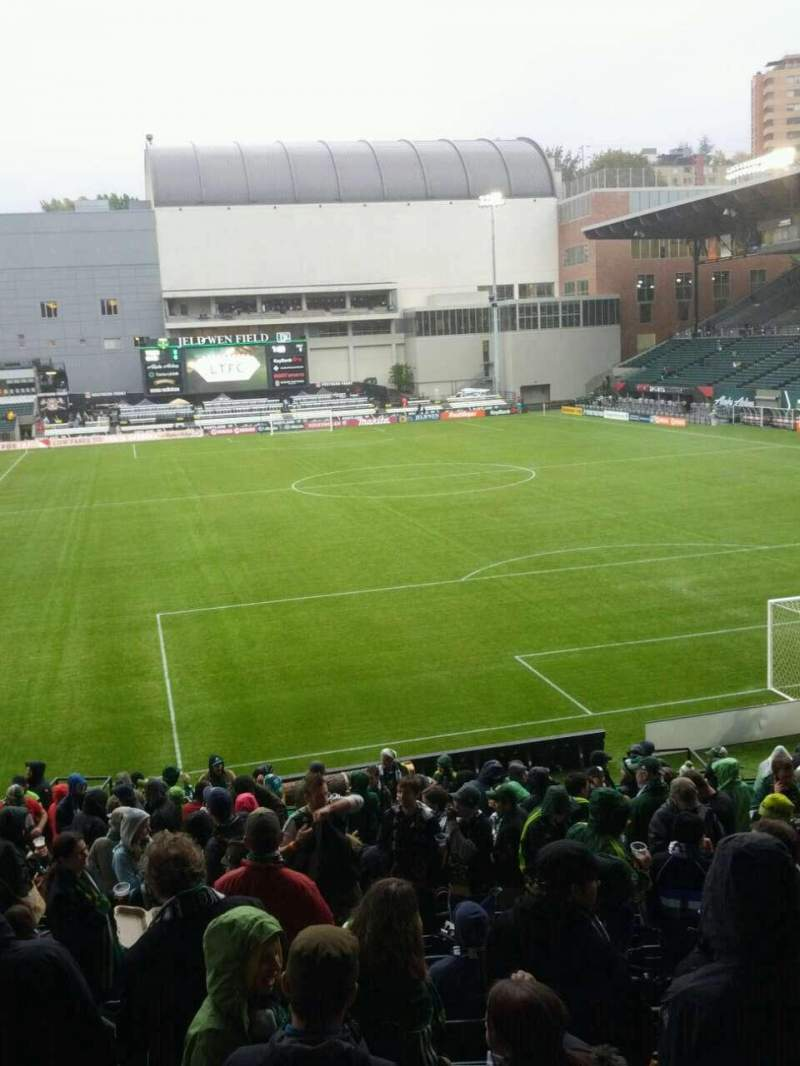 Seating view for Providence Park Section 105 Row r Seat 8