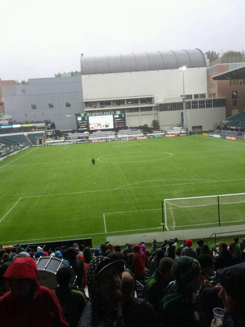 Seating view for Providence Park Section 106 Row r Seat 15