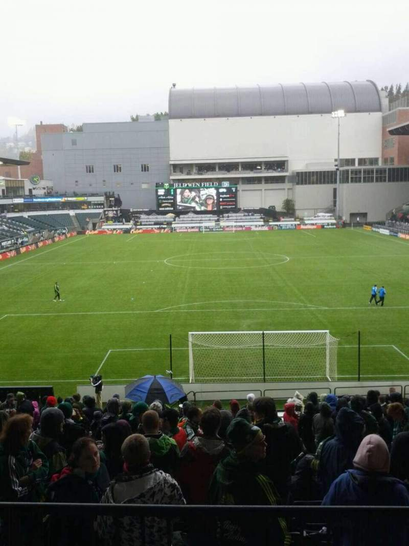 Seating view for Providence Park Section 107 Row r Seat 9