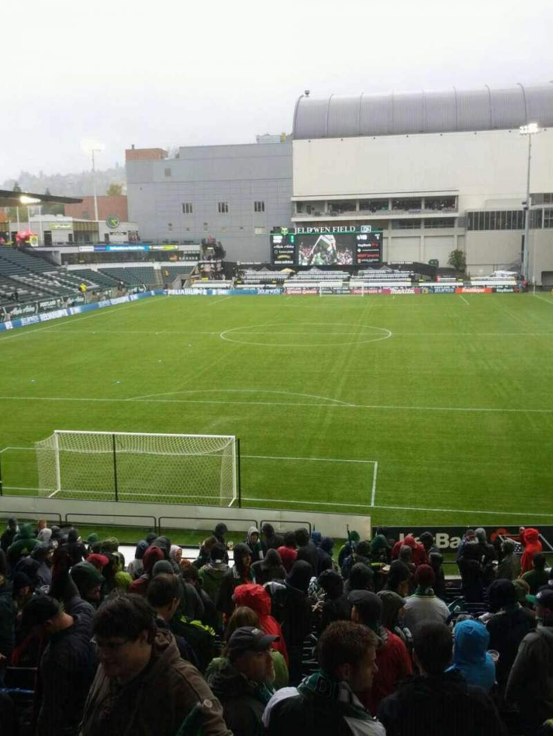 Seating view for Providence Park Section 108 Row r Seat 9