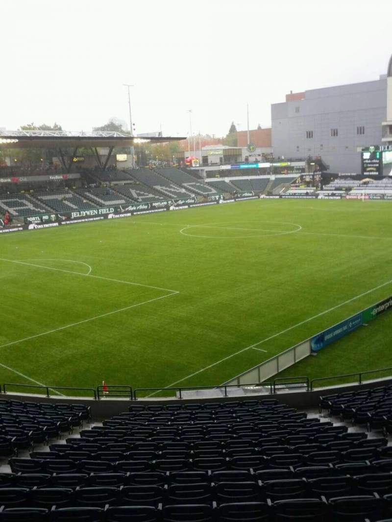 Seating view for Providence Park Section 112 Row r Seat 9