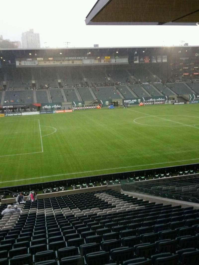 Seating view for Providence Park Section 96 Row x Seat 8