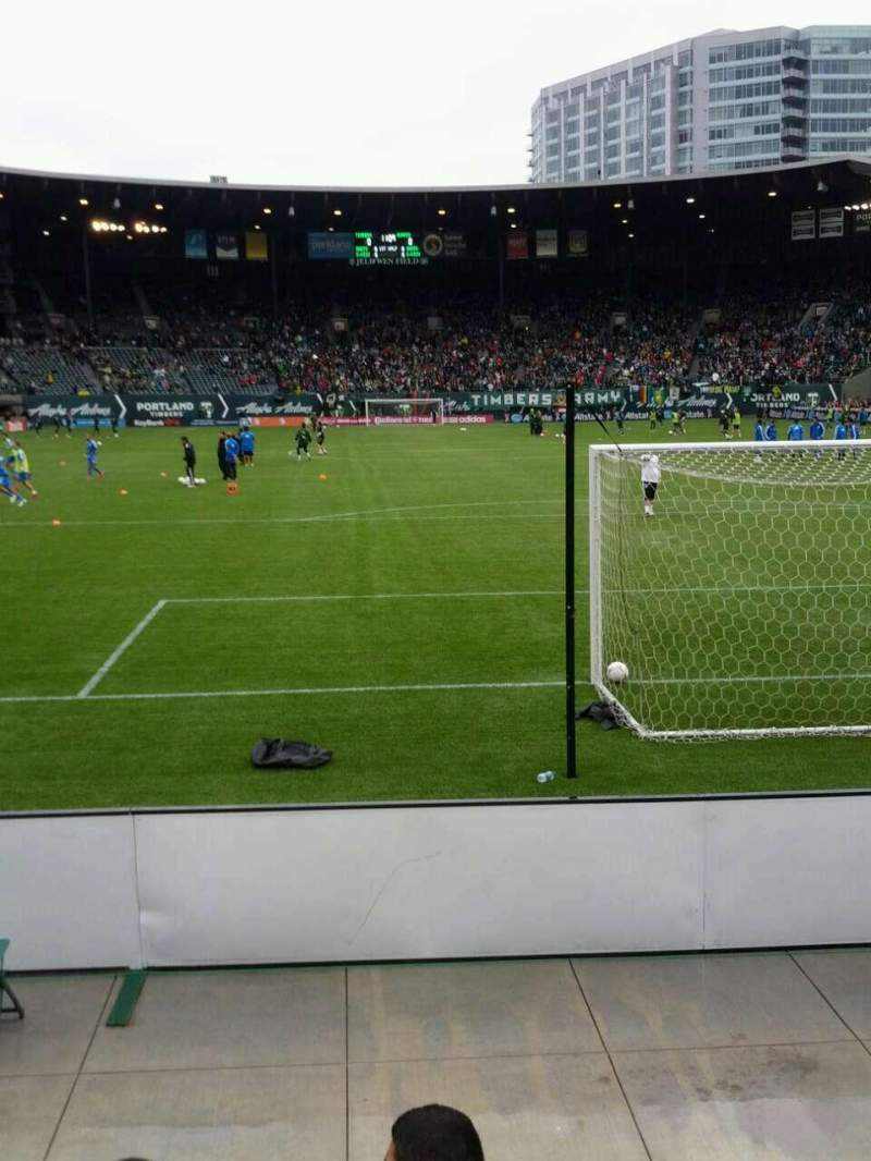 Seating view for Providence Park Section sd3 Row c Seat 11