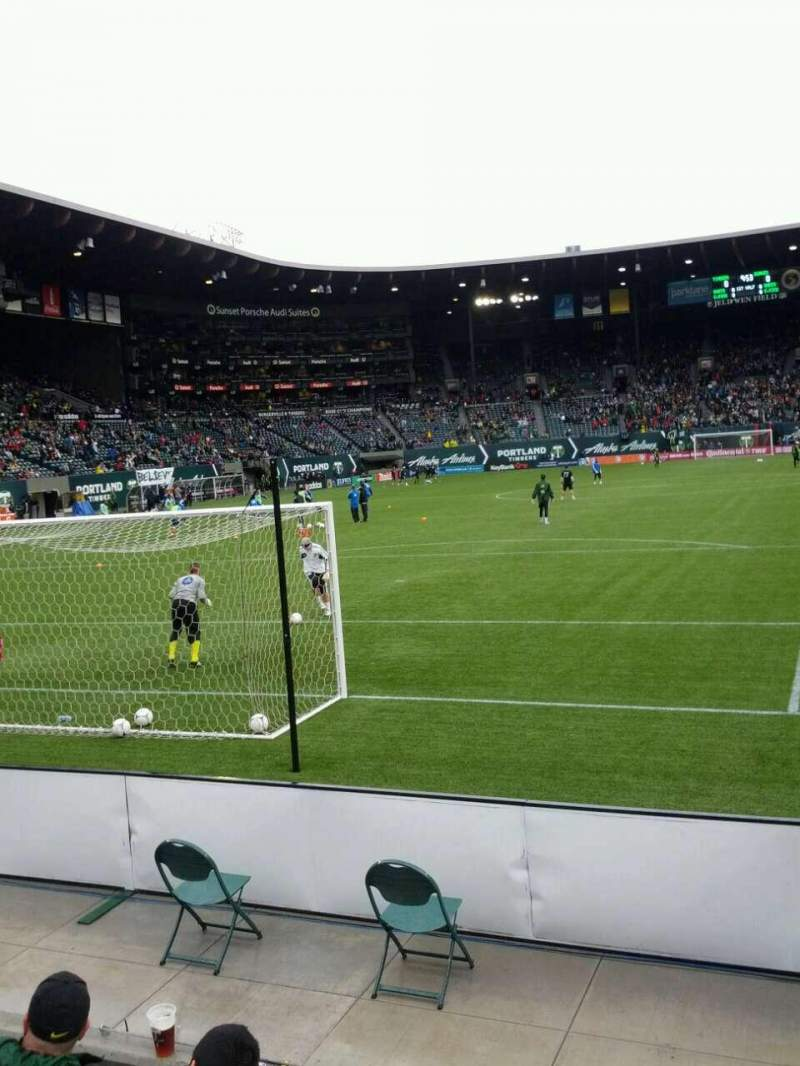 Seating view for Providence Park Section sd4 Row c Seat 22