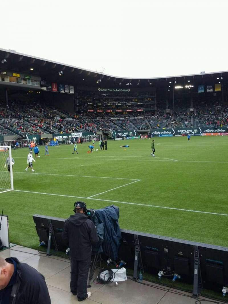 Seating view for Providence Park Section sd5 Row c Seat 7
