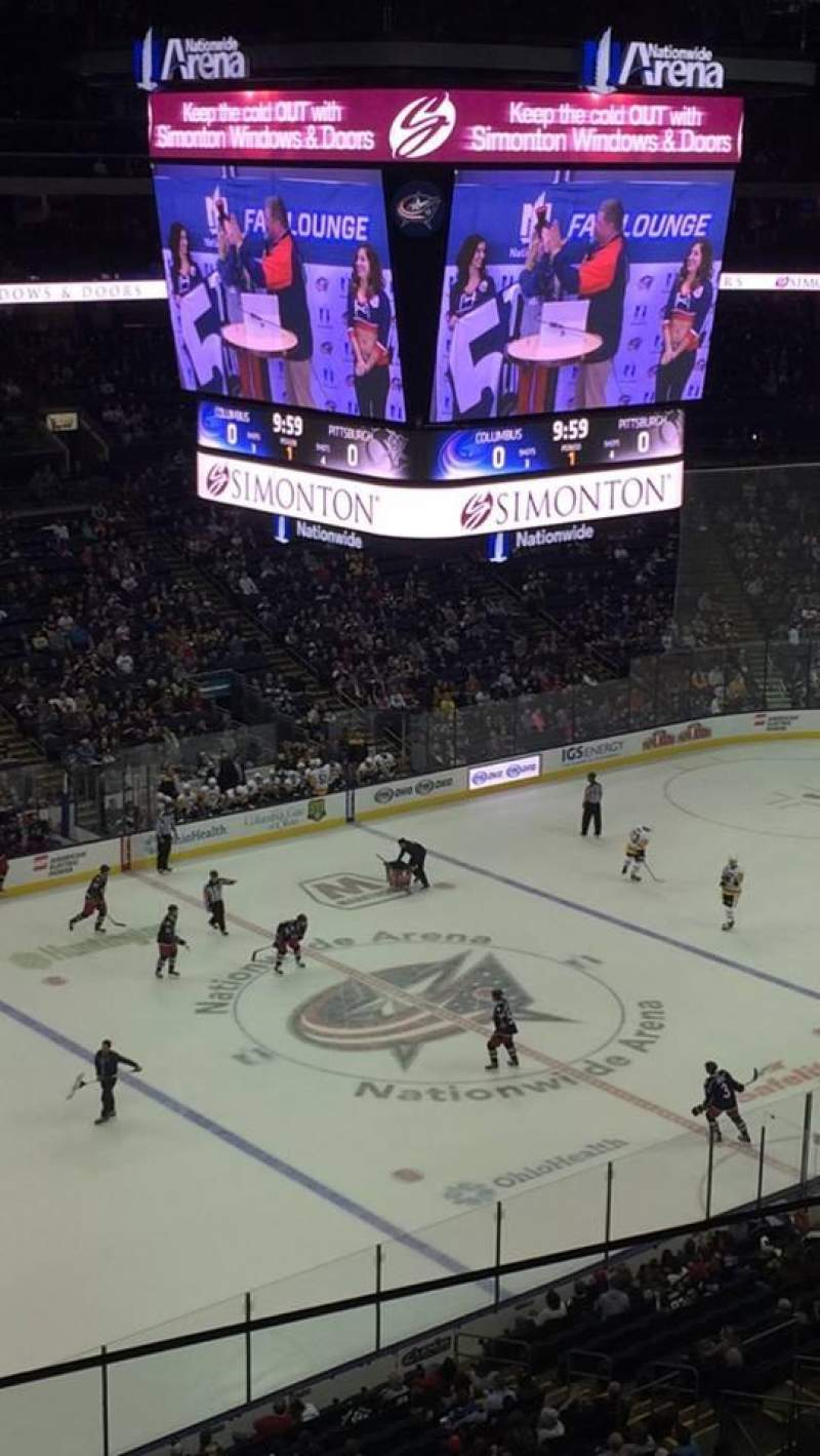 Nationwide Arena, section: 219, row: B, seat: 24