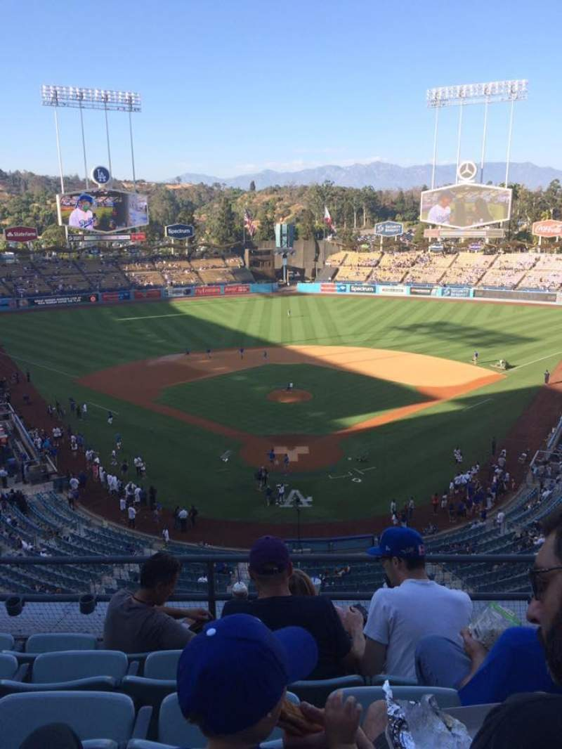 Seating view for Dodger Stadium Section 1RS Row E Seat 11