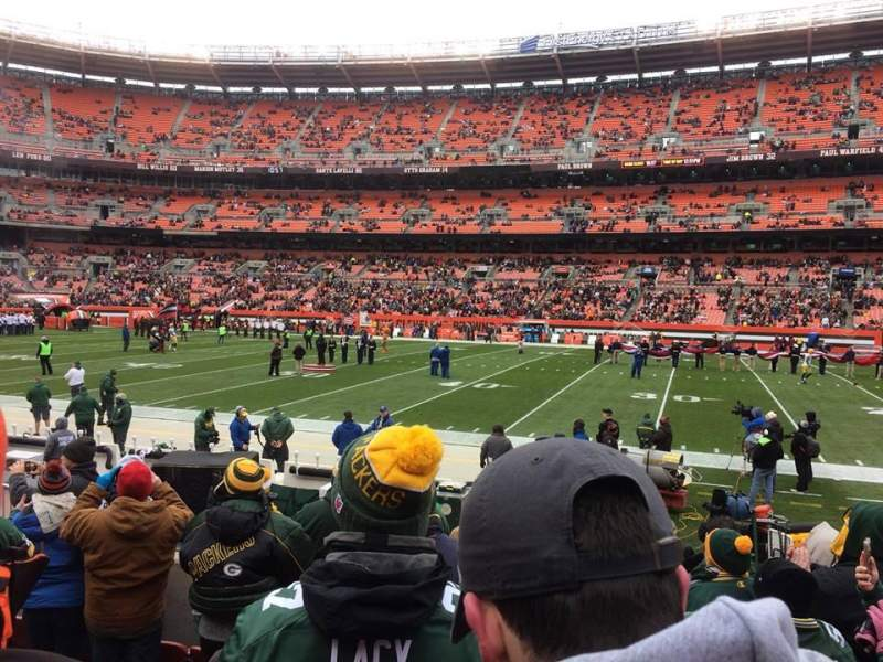 FirstEnergy Stadium, section: 110, row: 7, seat: 14