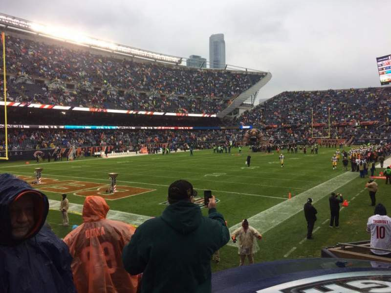 Seating view for Soldier Field Section 119 Row 10 Seat 9